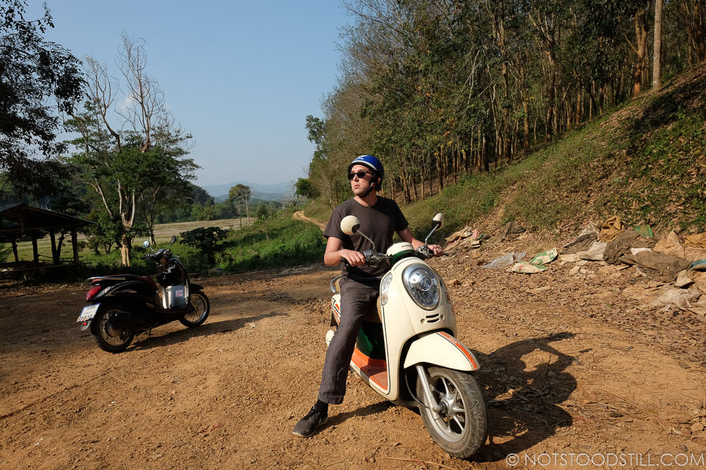 Motorbike rental is cheap, from 200 Baht/day (£5)