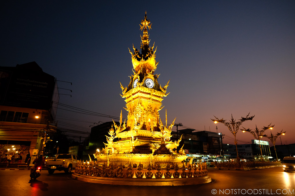 The Clock Tower in Chiang Rai