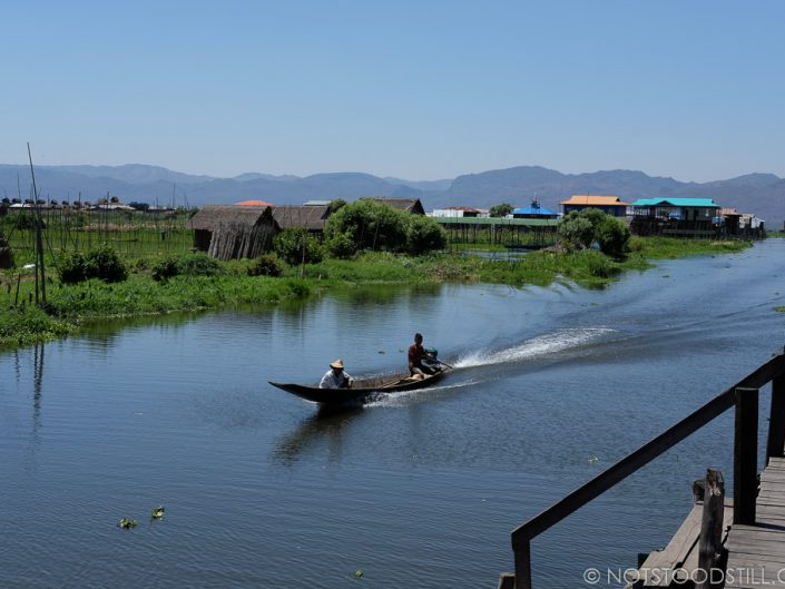 Private boat tours are popular in Inle and inexpensive.