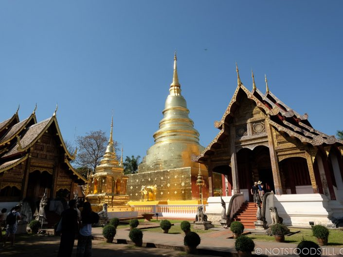 Wat Phra Singh Temple is within the Old City.