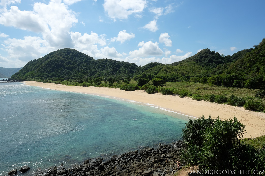 Miles of unspoilt beaches to choose from