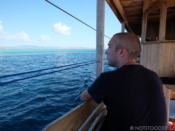 On the lookout for Manta Ray